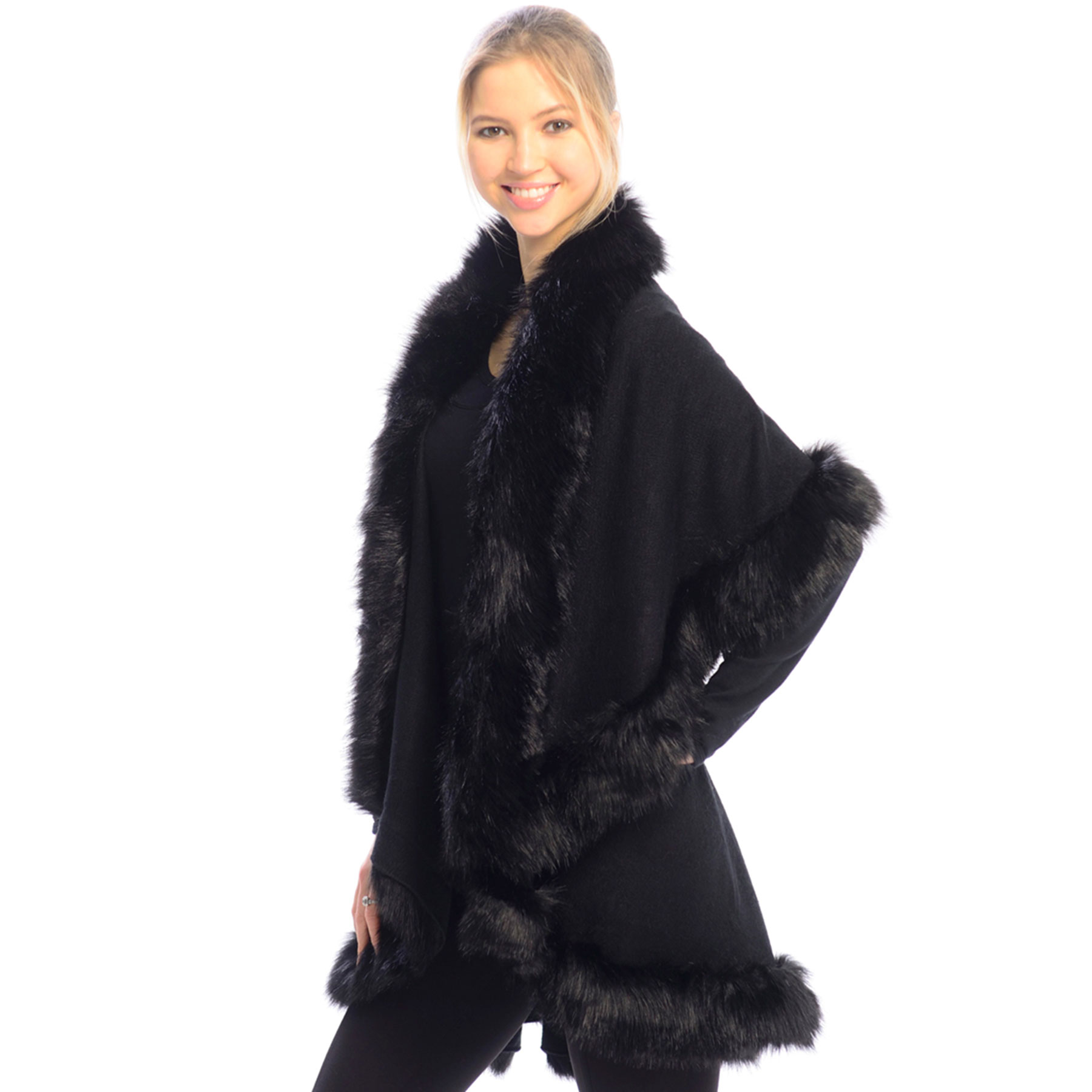 Cape Vests - Fur JP216