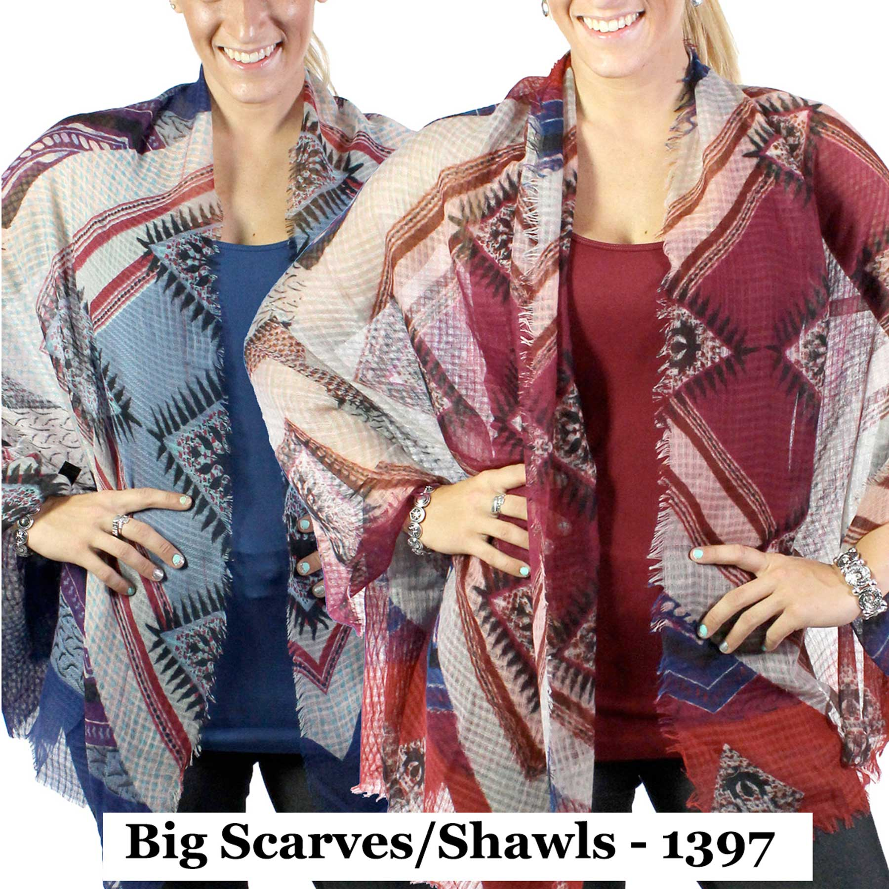 Big Scarves/Shawls - 1397