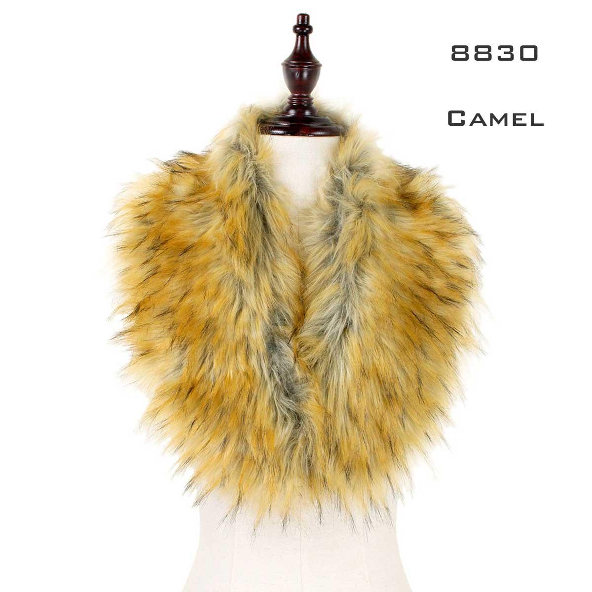 Oblong Scarves - Faux Fur