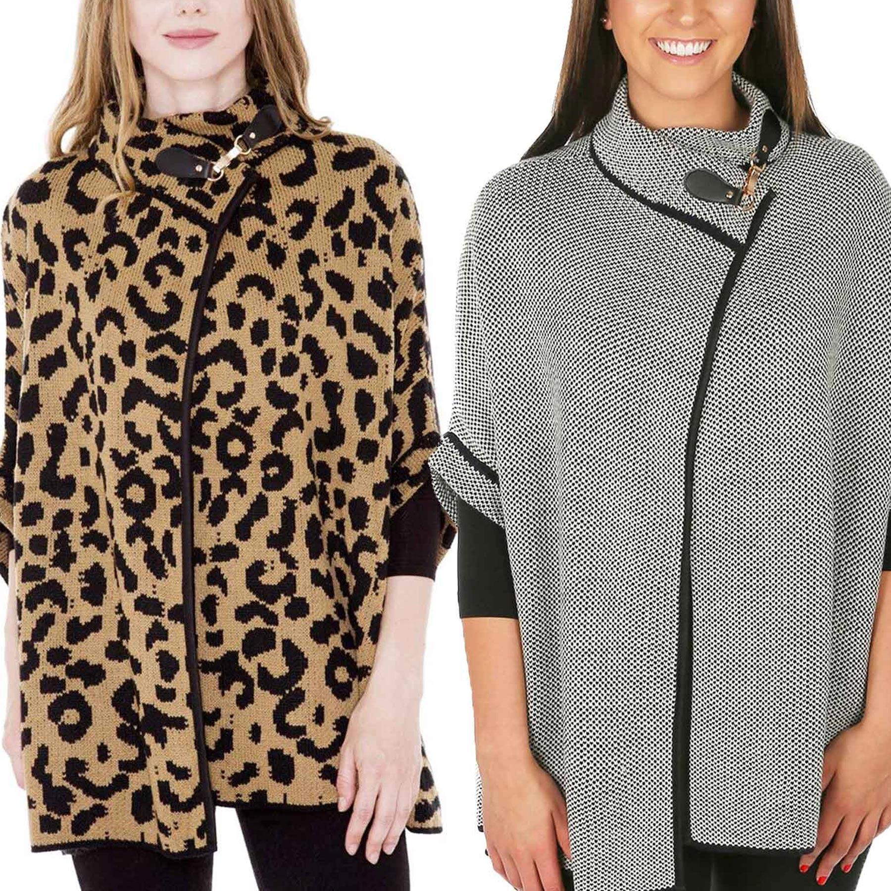 Knitted Cloak - JP511, JP992, & JP1493