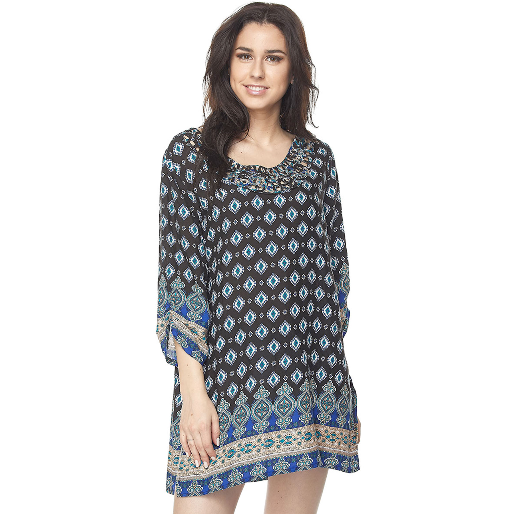 Printed Tunics - Three Quarter Sleeve 1577 & 1578
