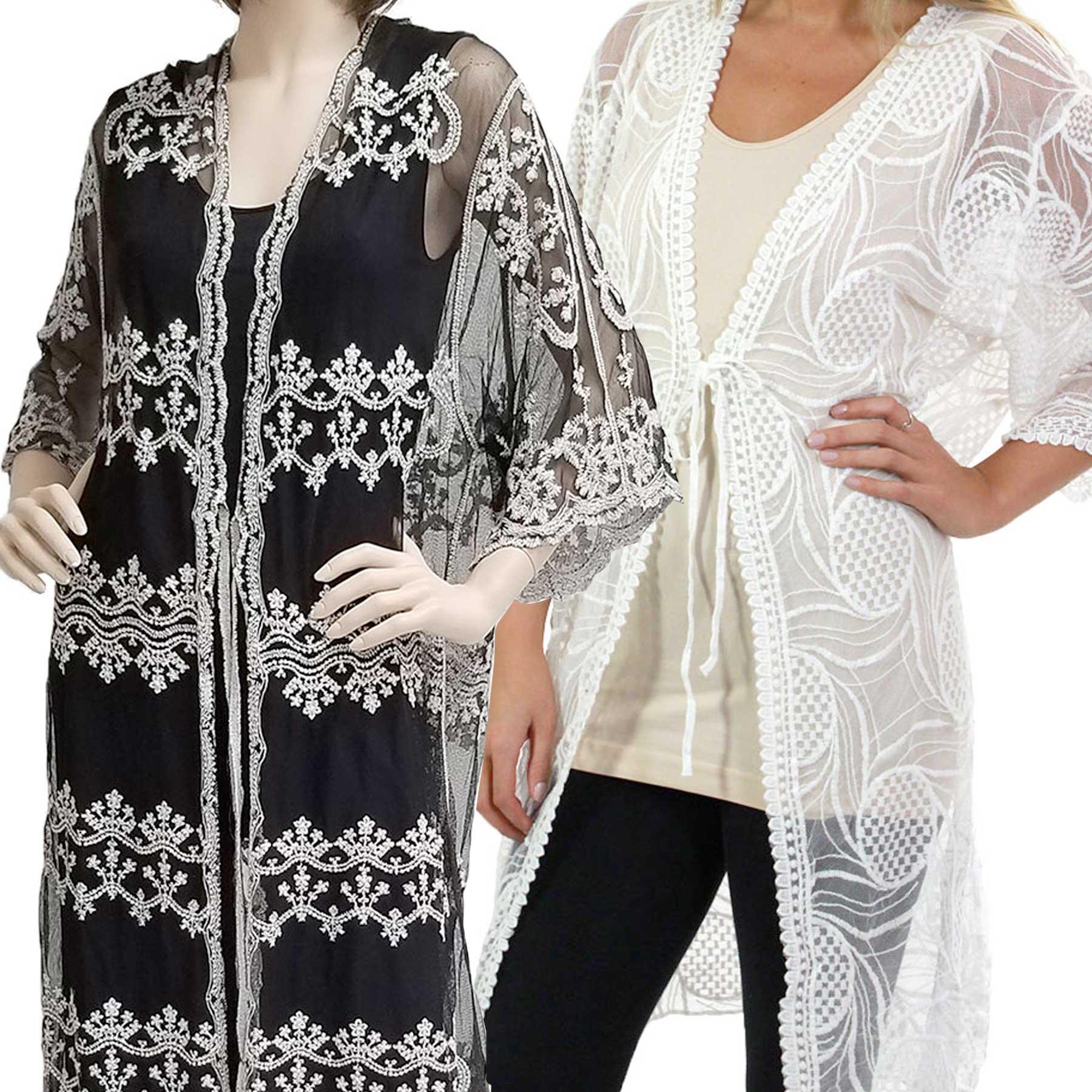 Kimono - Vintage Lace 1C12, 9036, & 9312