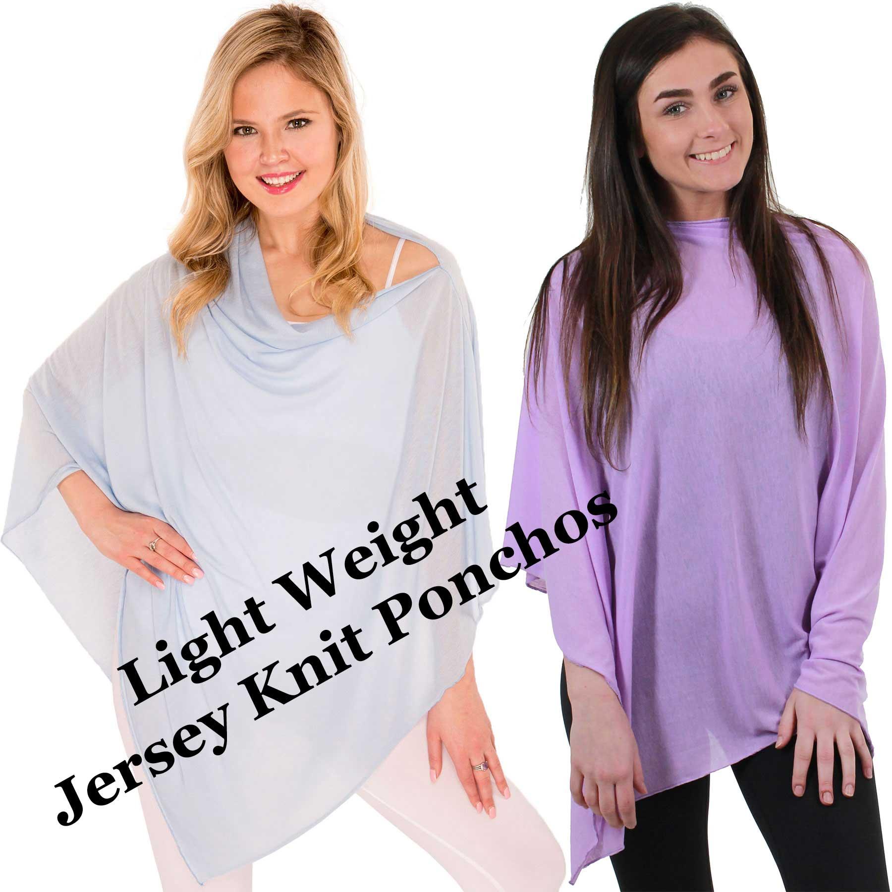 Poncho - Jersey Knit