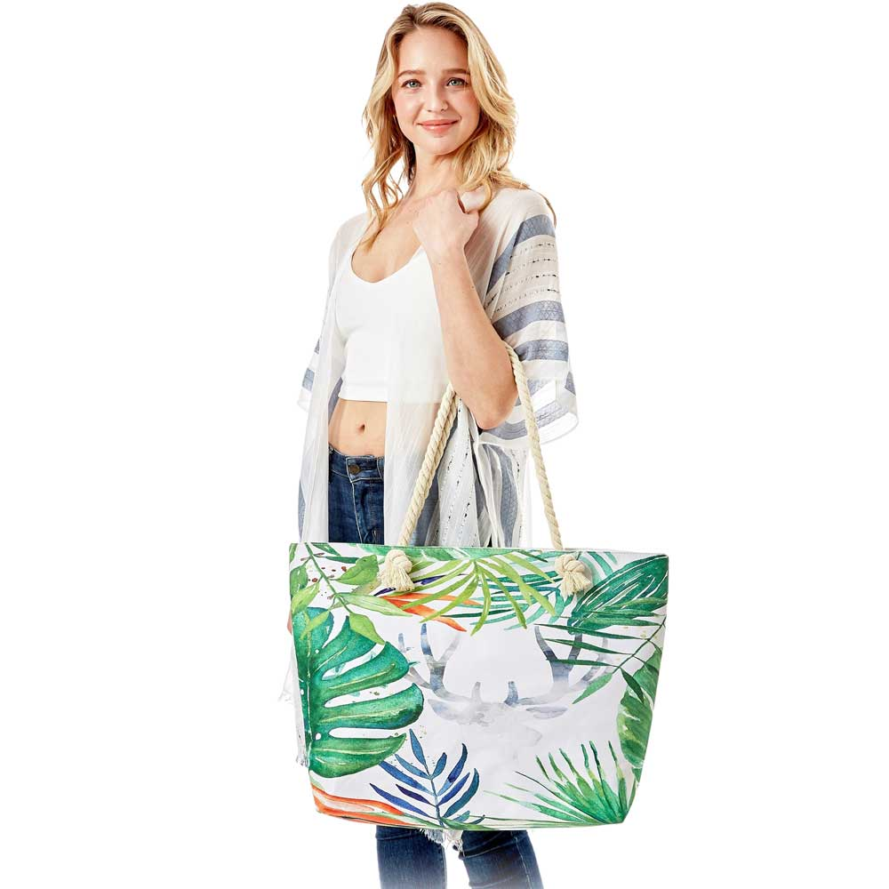 Summer Beach Tote Bags