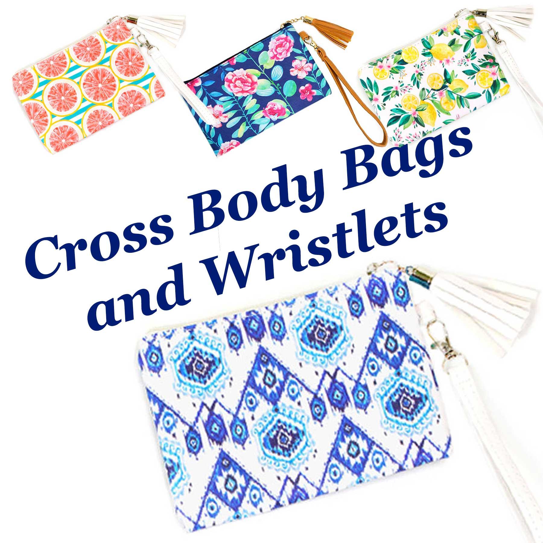 Crossbody Bags & Matching Wristlets