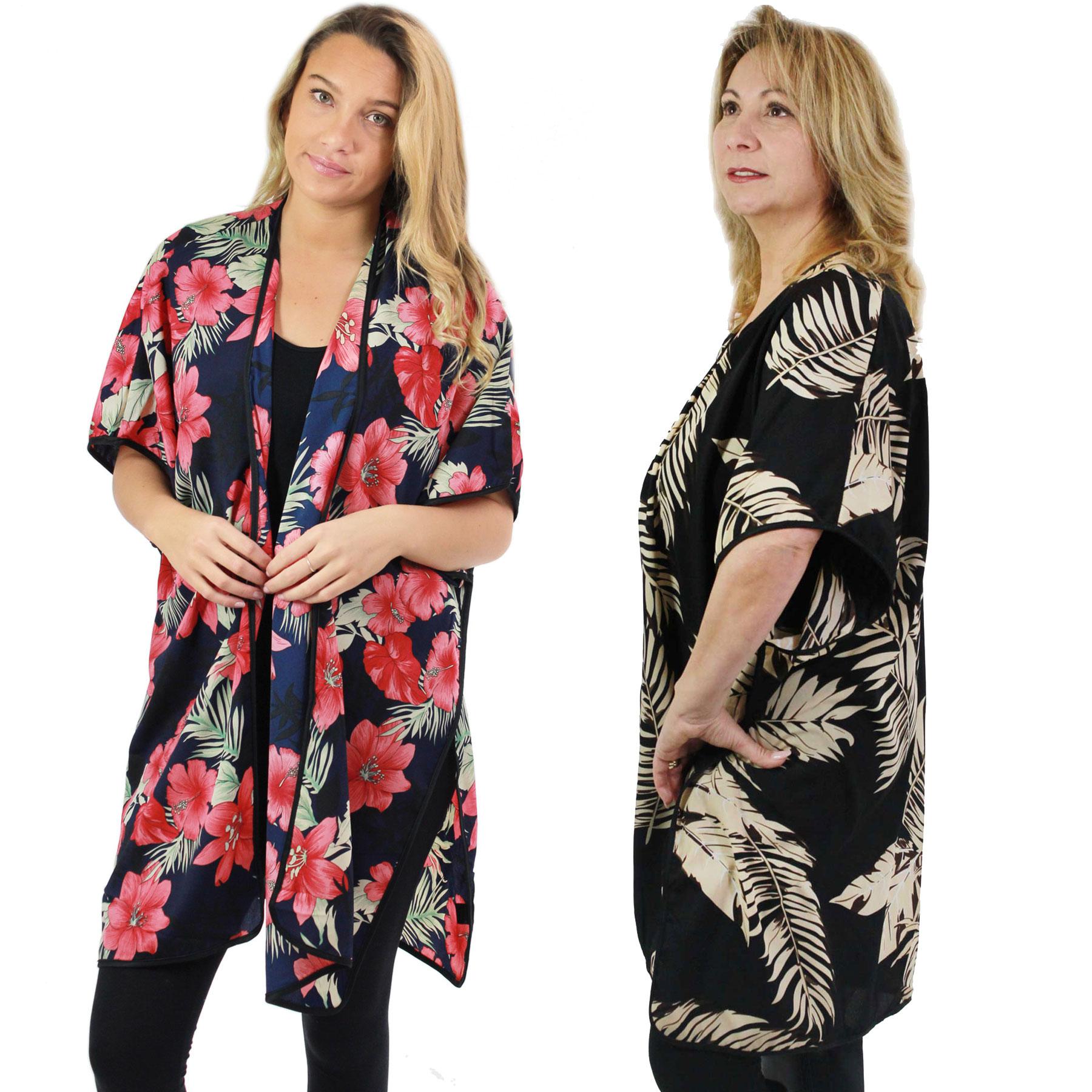 Kimono - Tropical Prints 9336 & 9337