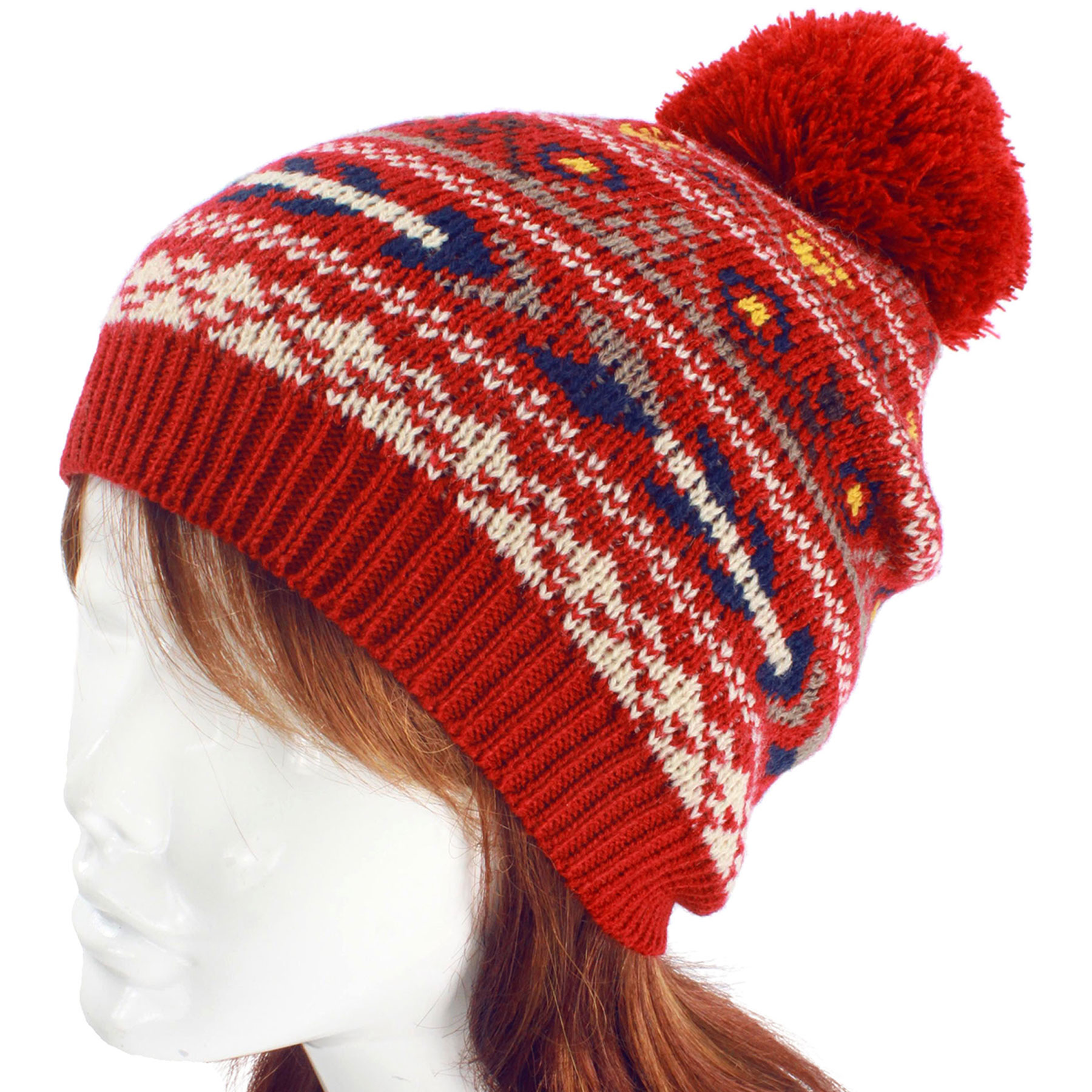 Knit Hat - Western Pattern 8718