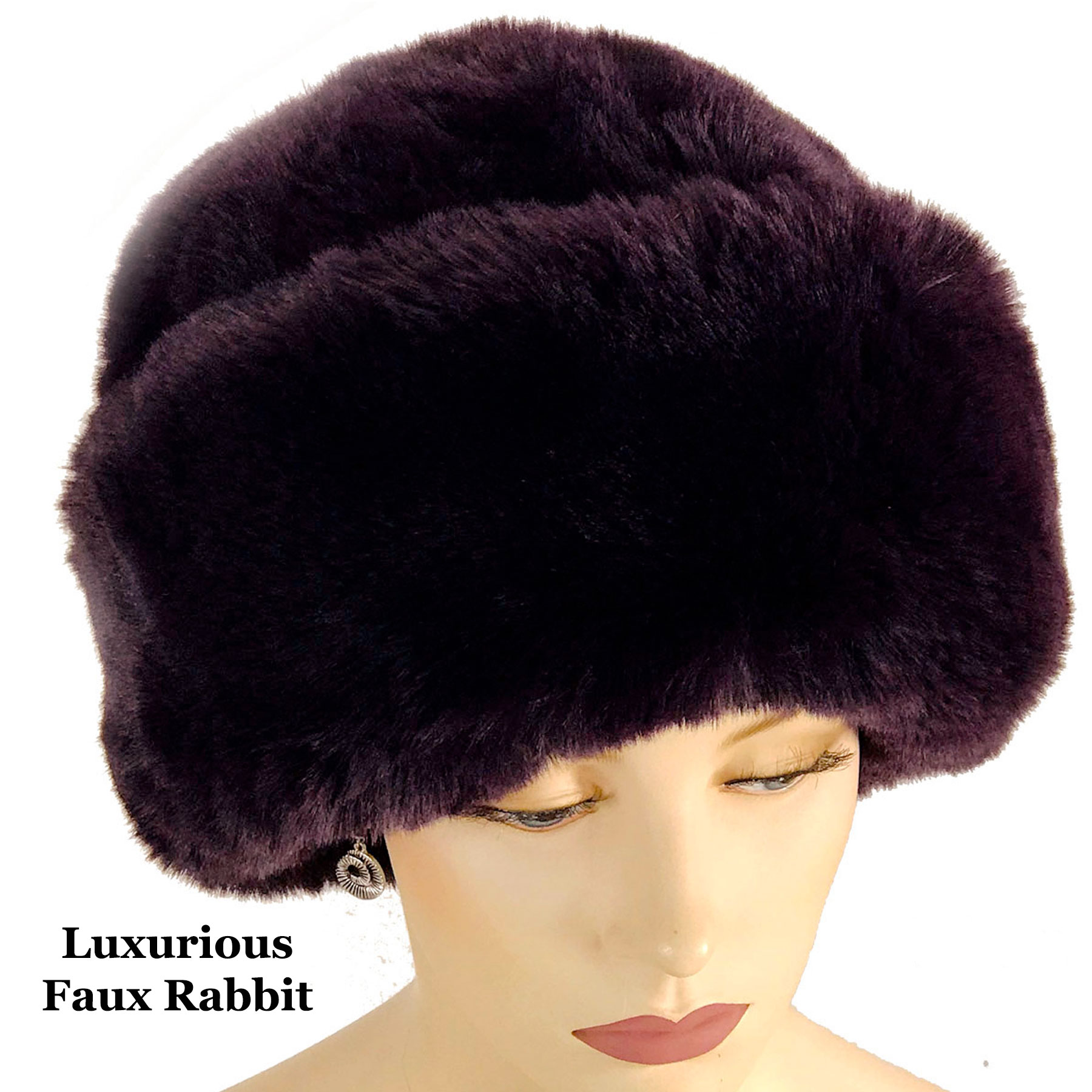 Hats - Faux Rabbit Fur LC03