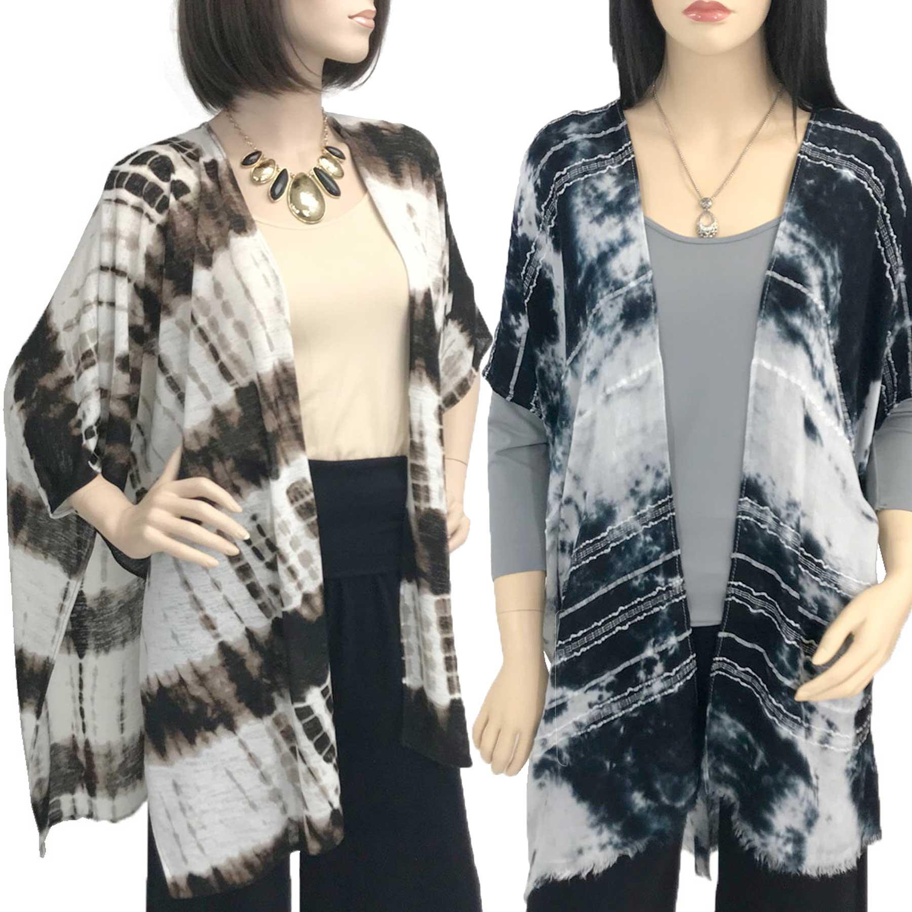 Kimono - Tie Dye Print 9610 & 9660