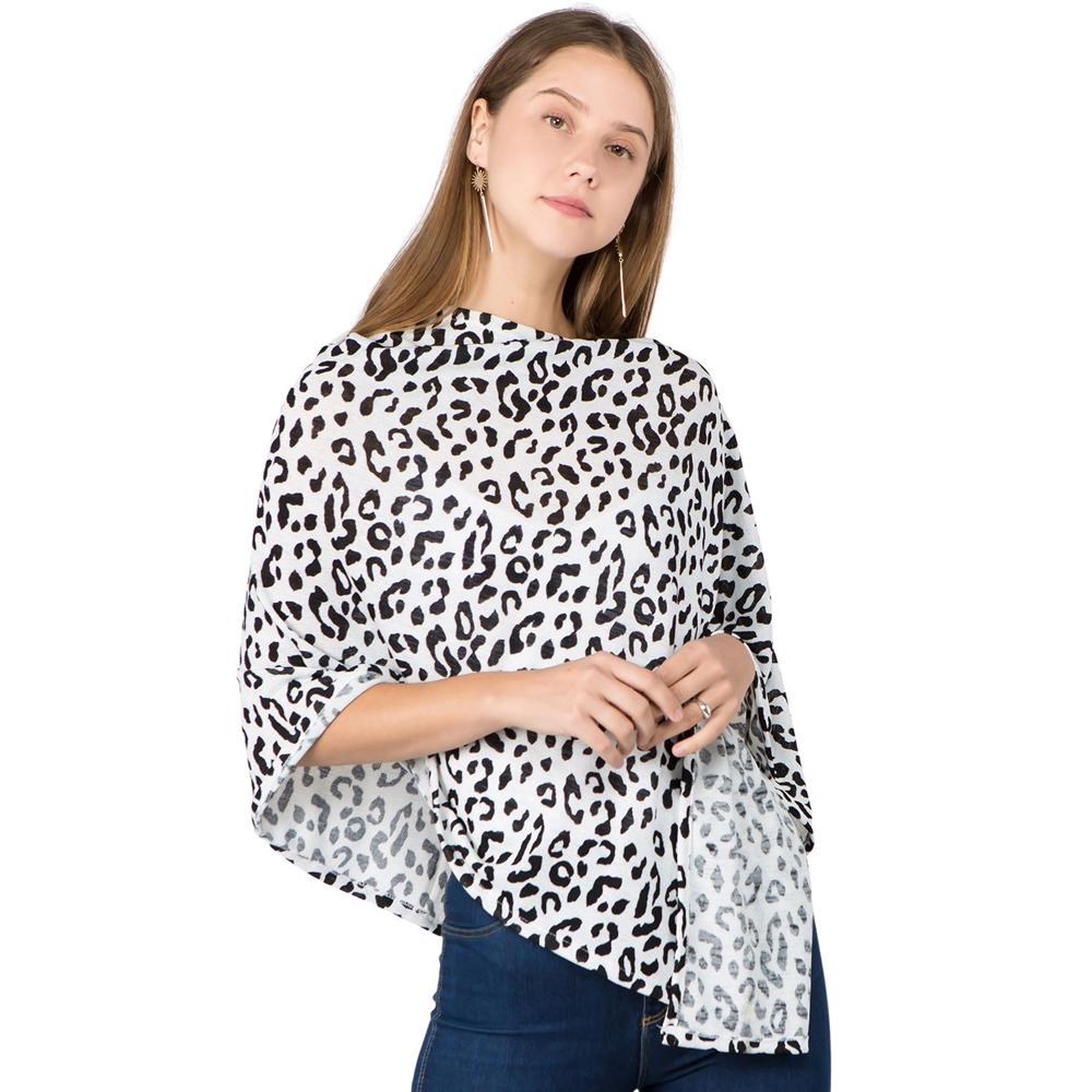 Poncho - Leopard Print 1C92