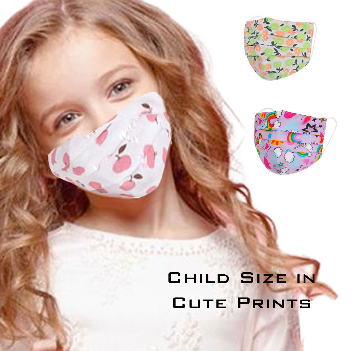Protective Masks by Jessica - Child Size
