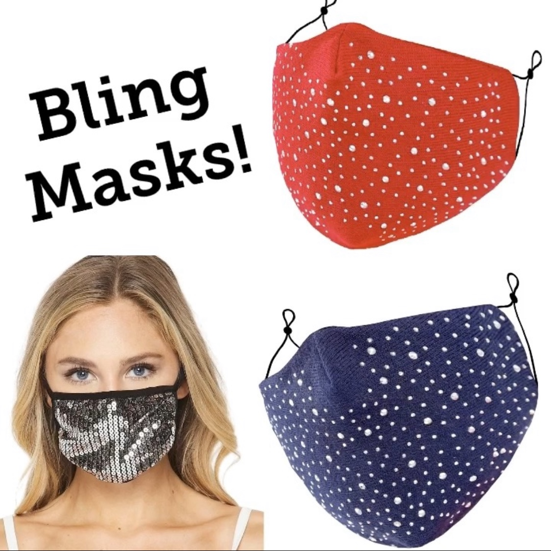 Protective Masks - Bling Styles