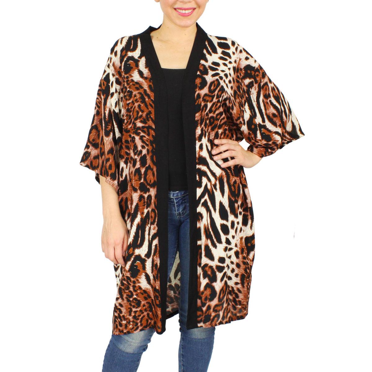 Kimono - Leopard Print 9360