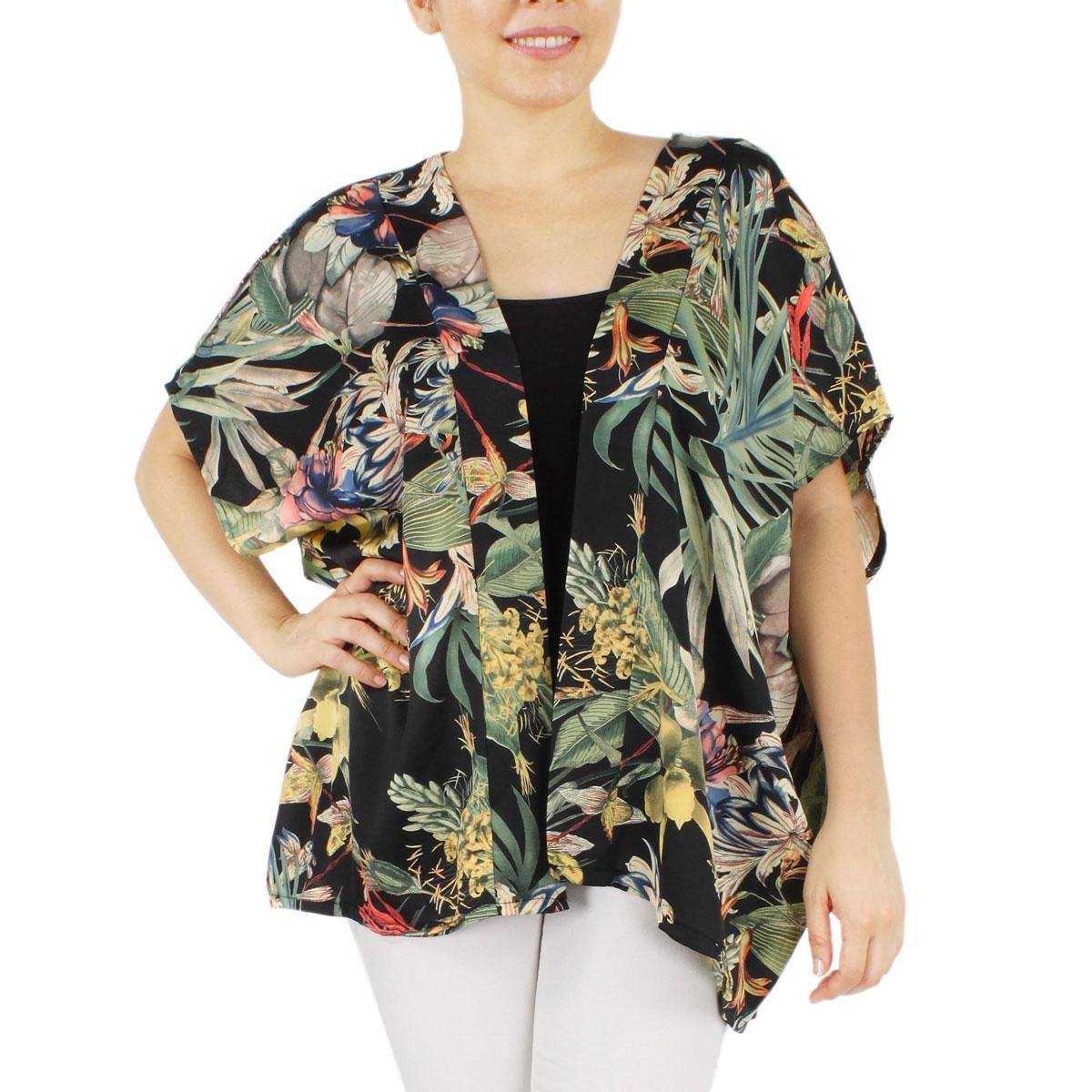 Kimono - Vintage Tropical Satin 9655