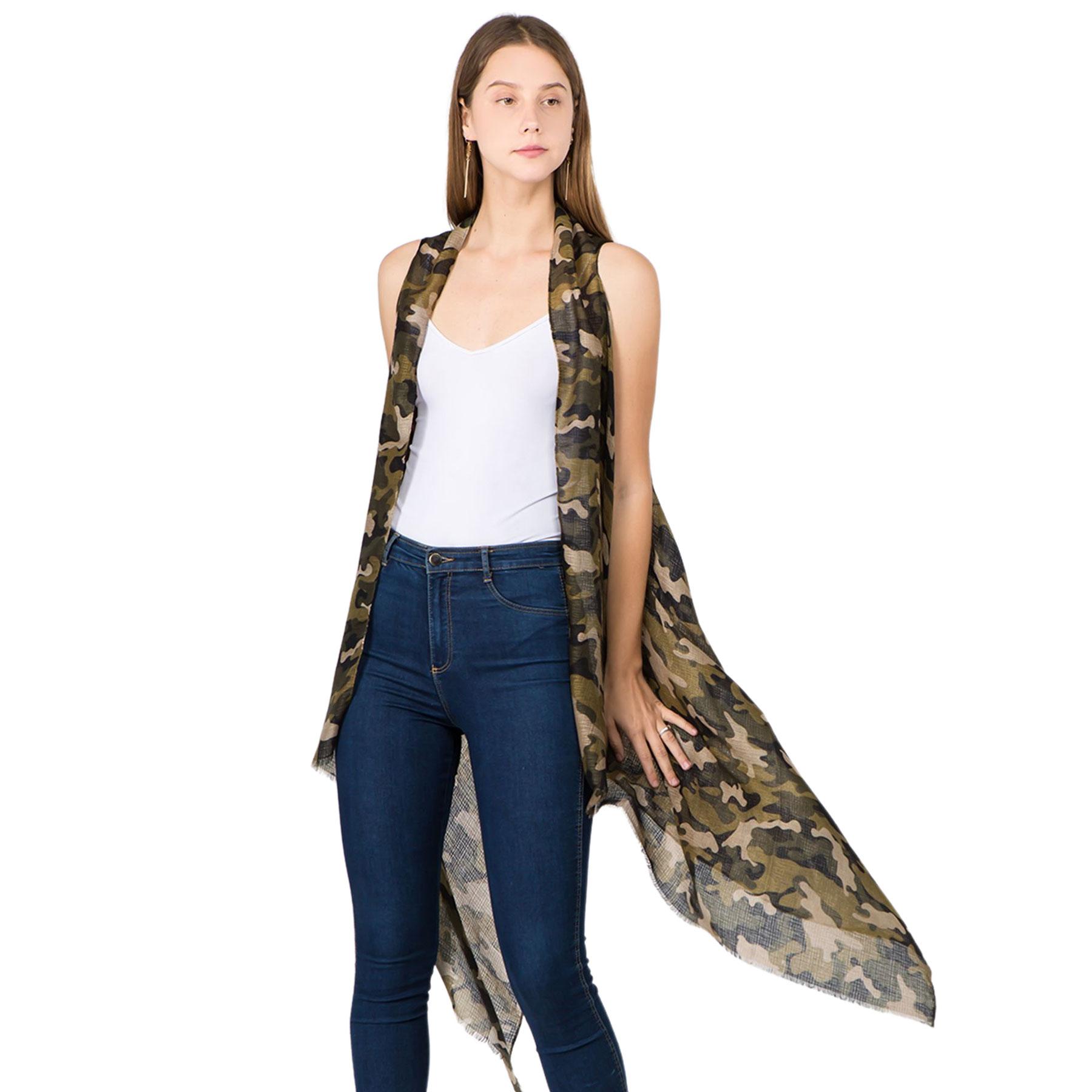 Vest - Camouflage Print 1C67