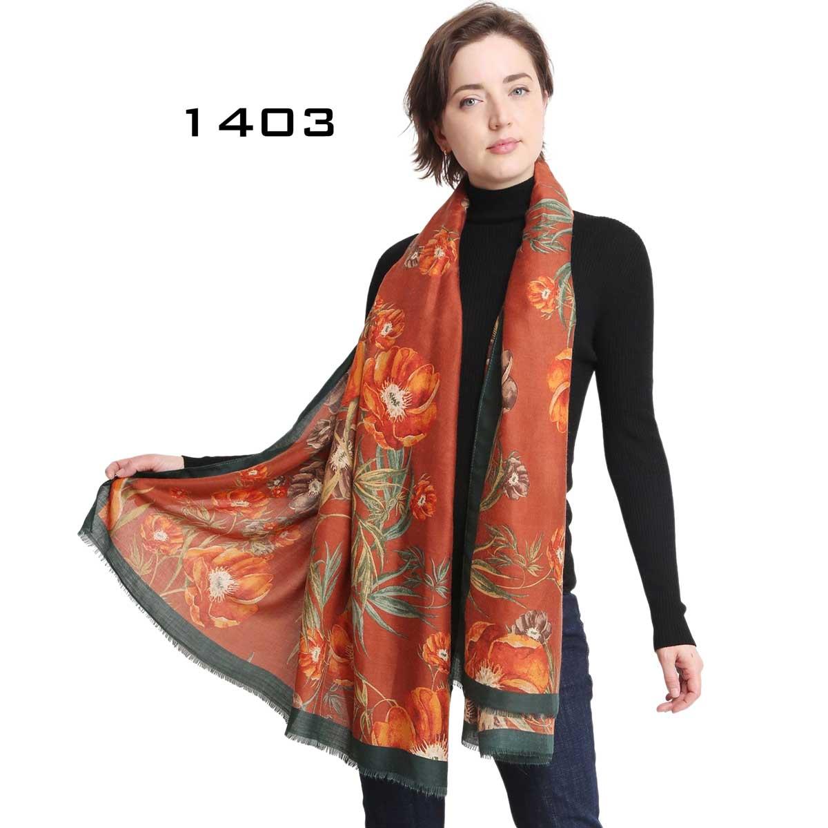 Luxury Scarf/Wrap - 1403